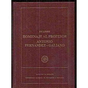 EXLIBRIS HOMENAJE AL PROFESOR ANTONIO FERNANDEZ-GALIANO