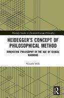 HEIDEGGER'S CONCEPT OF PHILOSOPHICAL METHOD