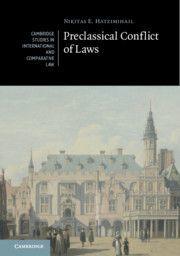 PRECLASSICAL CONFLICT OF LAWS