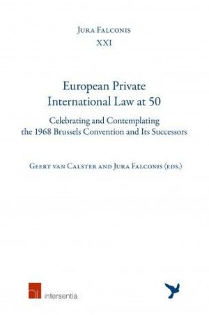 EUROPEAN PRIVATE INTERNATIONAL LAW AT