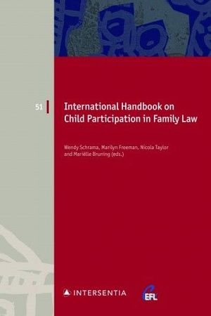 INTERNATIONAL HANDBOOK ON CHILD PARTICIPATION IN FAMILY LAW