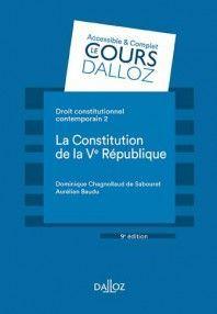 DROIT CONSTITUTIONNEL CONTEMPORAIN. TOME 2