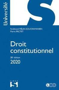 DROIT CONSTITUTIONNEL 2020