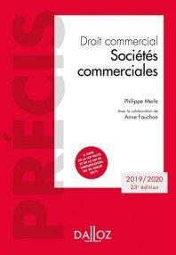 DROIT COMMERCIAL : SOCIÉTÉS COMMERCIALES 2019-2020