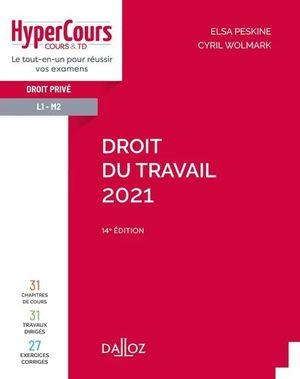DROIT DU TRAVAIL 2021