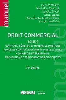 DROIT COMMERCIAL. TOME II