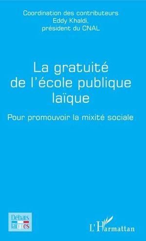 LA GRATUITÉ DE L'ÉCOLE PUBLIQUE LAÏQUE
