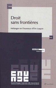DROIT SANS FRONTIÈRES