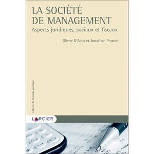 LA SOCIÉTÉ DE MANAGEMENT