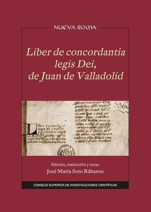 LIBER DE CONCORDANTIA LEGIS DEI DE NJUAN DE VALLADOLID