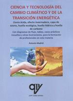 CIENCIA Y TECNOLOGIA DEL CAMBIO CLIMATICO Y DE LA TRANSICION ENER