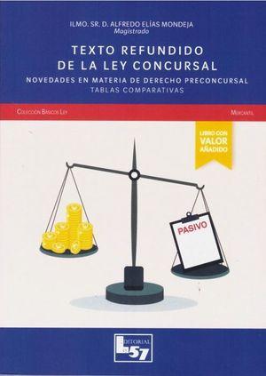 TEXTO REFUNDIDO DE LA LEY CONCURSAL 2020. NOVEDADES