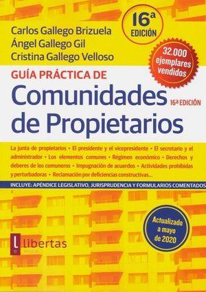 GUÍA PRÁCTICA DE COMUNIDADES DE PROPIETARIOS 2020