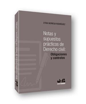 NOTAS Y SUPUESTOS PRÁCTICOS DE DERECHO CIVIL