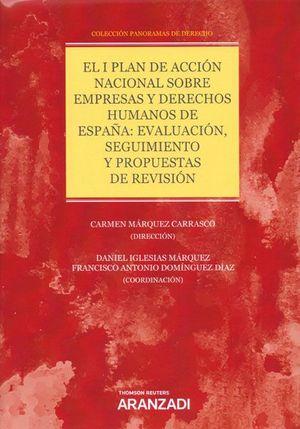 EL I PLAN DE ACCION NACIONAL SOBRE EMPRESAS Y DERECHOS HUMANOS DE ESPAÑA