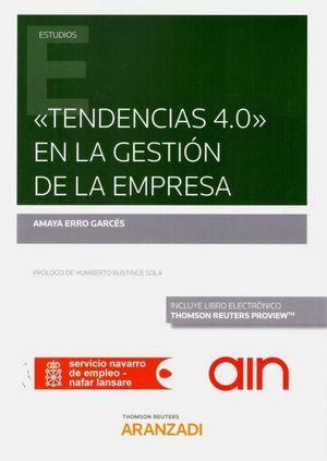 TENDENCIAS 4.0 EN LA GESTION DE LA EMPRESA