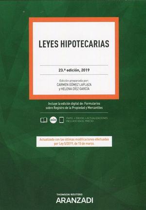 LEYES HIPOTECARIAS