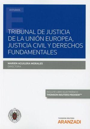 TRIBUNAL DE JUSTICIA DE LA UNION EUROPEA JUSTICIA CIVIL Y DERECHOS FUNDAMENTALES