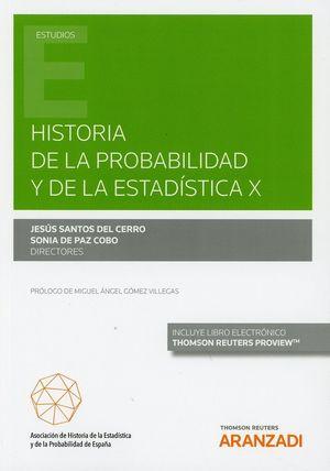 HISTORIA DE LA PROBABILIDAD Y DE LA ESTADISTICA X