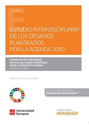 ESTUDIO INTERDISCIPLINAR DE LOS DESAFÍOS PLANTEADOS POR LA AGENDA 2020