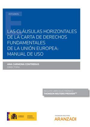 LAS CLAUSULAS HORIZONTALES DE LA CARTA DE DERECHOS FUNDAMENTALES DE LA UNIÓN EUROPEA