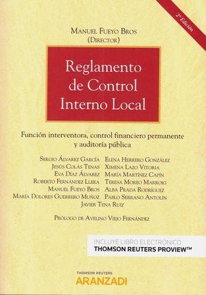 REGLAMENTO DE CONTROL INTERNO LOCAL