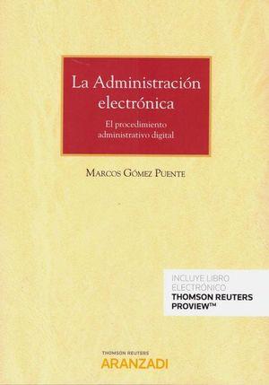 LA ADMINISTRACION ELECTRONICA