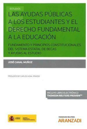 LAS AYUDAS PÚBLICAS A LOS ESTUDIANTES Y EL DERECHO FUNDAMENTAL A LA EDUCACIÓN