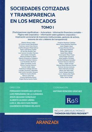 SOCIEDADES COTIZADAS Y TRANSPARENCIA EN LOS MERCADOS. TOMO I Y II