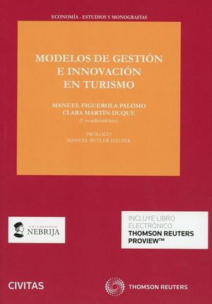 MODELOS DE GESTION E INNOVACION EN TURISMO