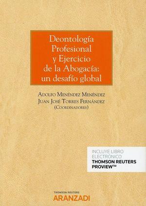 DEONTOLOGIA PROFESIONAL DEL ABOGADO Y EJERCICIO DE LA ABOGACIA