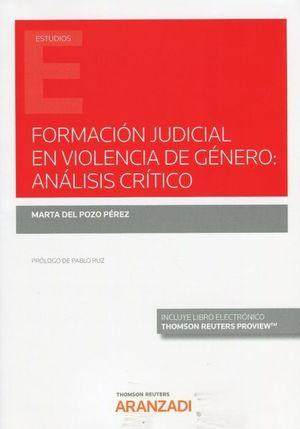 FORMACION JUDICIAL EN VIOLENCIA DE GENERO: ANALISIS CRITICO