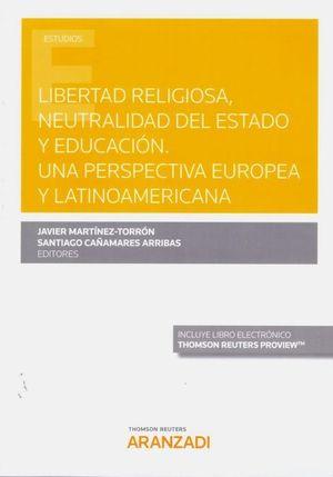 LIBERTAD RELIGIOSA NEUTRALIDAD DEL ESTADO Y EDUCACION