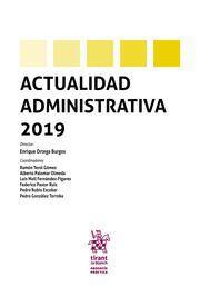 ACTUALIDAD ADMINISTRATIVA 2019