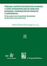 TRIBUNAL EUROPEO DE DERECHOS HUMANOS Y CORTE INTERAMERICANA DE DERECHOS HUMANOS