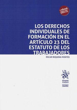 LOS DERECHOS INDIVIDUALES DE FORMACION EN EL ARTICULO 23 DEL ESTATUTO DE LOS TRABAJADORES