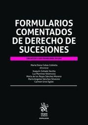 FORMULARIOS COMENTADOS DE DERECHO DE SUCESIONES