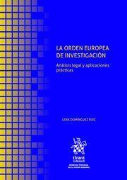 LA ORDEN EUROPEA DE INVESTIGACIÓN