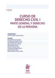 CURSO DE DERECHO CIVIL, I