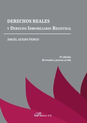 DERECHOS REALES YD ERECHO INMOBILIARIO ESTATAL