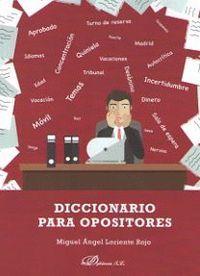 DICCIONARIO PARA OPOSITORES