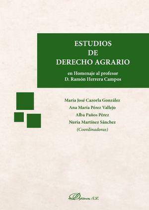 ESTUDIOS DE DERECHO AGRARIO