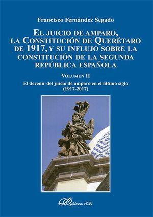 JUICIO DE AMPARO LA CONSTITUCION DE QUERETARO