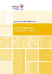 POLÍTICA LEGISLATIVA Y VIOLENCIA DE GÉNERO