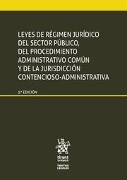 LEYES REGIMEN JURIDICO SECTOR PUBLICO PROCEDIMIENTO ADMINISTRATIVO COMUN Y JURIS