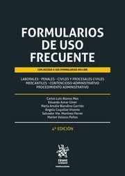 FORMULARIOS DE USO FRECUENTE (CON ACCESO A LOS FORMULARIOS ON-LINE)