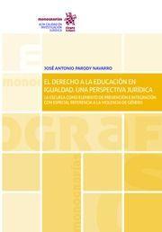 EL DERECHO A LA EDUCACION EN IGUALDAD