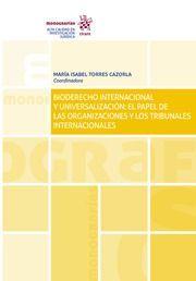 BIODERECHO INTERNACIONAL Y UNIVERSALIZACION
