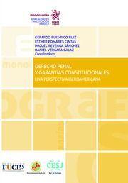 DERECHO PENAL Y GARANTÍAS CONSTITUCIONALES