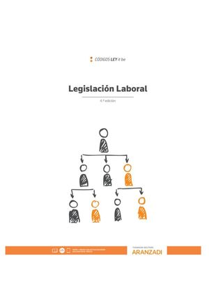 LEGISLACION LABORAL (LEYITBE) 4ª ED. 2020